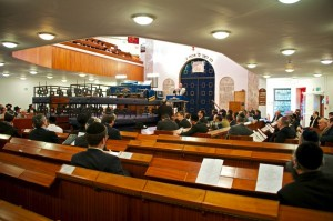 Men's section of the Synagogue - photo: Howard Gordon