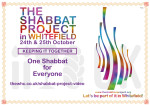 Shabbat Project video