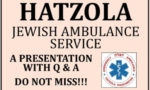 Hatzola 5th Dec