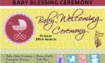 Baby Naming Ceremony- POSTPONED